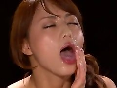 Astounding Japanese model Akiho Yoshizawa in Fabulous POV, Facial JAV scene