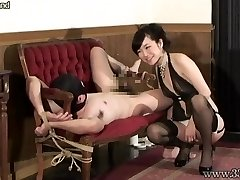 Japanese Femdom Prostate Massage Tied Thrall