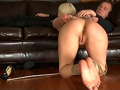 Maledom BDSM Suženj Cherry Raztrgana v Ropstva