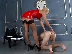 Stringent blondie dominant-bitch