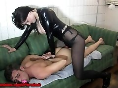 Femdom Rope On Chastity and CEI Compilation