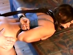 Fat guy bdsm training wifey to be a whore
