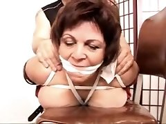 Vanessa teacher Bondage first time nail