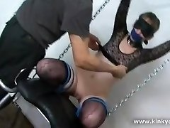Bdsm slave in extreme punishment