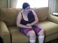 Chubby Youthful Tramp Punished With Brutal Spanking