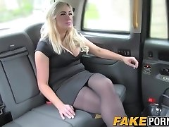 Obese blonde Louis gets seduced by a ultra-kinky taxi driver