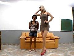 Brazilski hudo teptali stopal prevlado