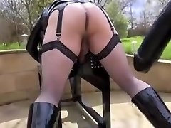 Bitchy dykes in hot female domination porn activity