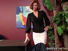 Veronica Avluv Gets Off On A Dark-hued Manhood