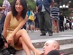 सार्वजनिक पैर की पूजा
