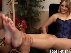 If you worship my soles I will give you a feetjob
