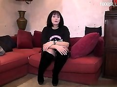 Horny nubile bellowing squirt