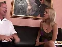 Leggy blonde Payton Leigh's MILF internal ejaculation ravage