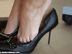 Maria - Shoeless in High High-heeled Shoes