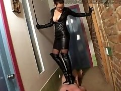 Leather Goddess Trampling
