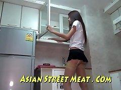 Bangkok Sobo Služkinja Buggered Za Novo Torbico