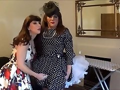 Angelica plugged and taunted by Madame C