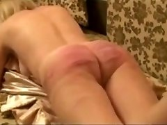 Horny amateur Caning of russian victim