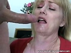 Mega-slut Step-mother Fucks Stepson
