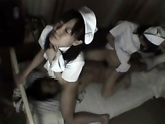 Nurses tie up patient