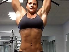What an ABS what an Arms what a Doll (Sexy Fitness Babe)
