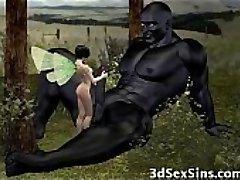 Ogres Jizz 3D Babes!
