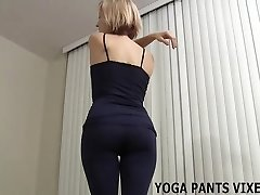 My round butt just swallows these yoga pants JOI