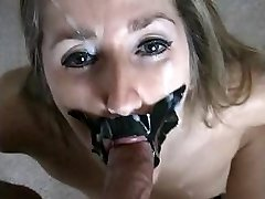 Trussed up oral pleasure