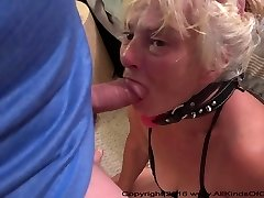 Skimpy Little Anal Granny Gets Used