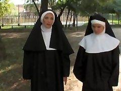 European free xxx movie with mischievous nuns who love boner