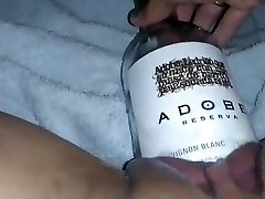 MissXXXandPAIN - Wine Bottle in my jummy vag