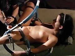 Orgasm and howling in pain in BONDAGE & DISCIPLINE bondage