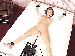 Charlie Laine Tied To Couch And Pounded By Machine