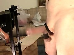 Whipping Machine Meatpipe and Ball Torture