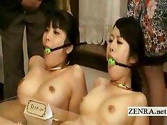 Bizarre weird bondage ass fucking butt speculum Japan furniture
