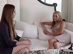 Dyked - Torrid Blondie Dommed By Lesbian Therapist