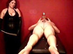Caning By Buxom Domina