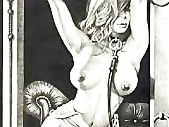 Vintage Erootiline BDSM Teoseid Hentai koomiksid
