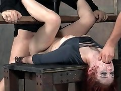 Redhead DOMINATION & SUBMISSION jaws and pussy pounding