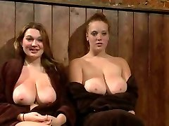 Meaty Titted Redhead And Friend Publicly Punished