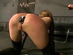 Platinum-blonde german slave girl  1-2