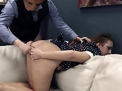 Extreme BDSM butt action in gangbang
