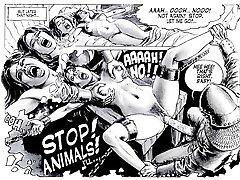 Erotické Sexuální Fetish Fantasy Komiks