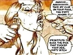 Hardcore Seksuāls Fetišs Komiksu