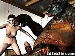 3D Škrati Vraga Vroča Dekleta!