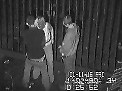 CCTV Behind a Sunderland Nightclub Part 1