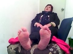 pies दे anciana मैक्सिकन,