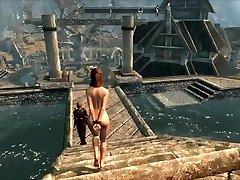 סכנות ברח Skyrim slavegirl 08