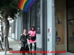 PUBLIC Sissy Servitude Shopping Humiliation female domination Chick-Dominator