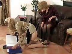 young femmes get punished by mature women boss